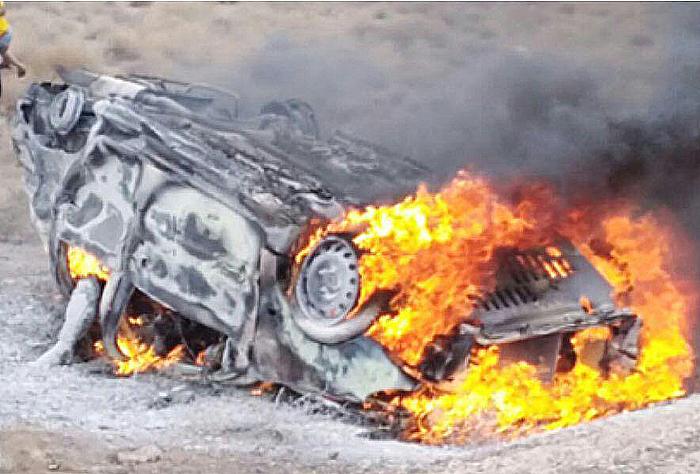 واژگونی خودرو پژو ۳ کشته و یک مجروح برجای گذاشت
