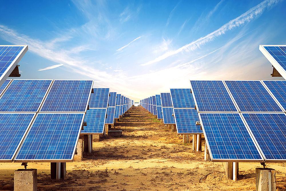 افتتاح پنلهای خورشیدی دانشگاه صنعتی سیرجان