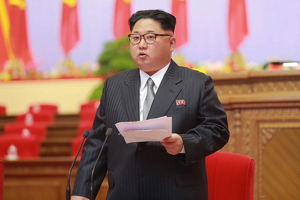 سخنان اون در بزرگترین گردهمایی کره شمالی