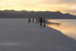 دریاچه فصلی نمک سیرجان