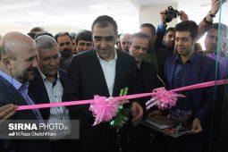 افتتاح بیمارستان ۲۳۵ تختخوابی سیرجان با حضور وزیر بهداشت