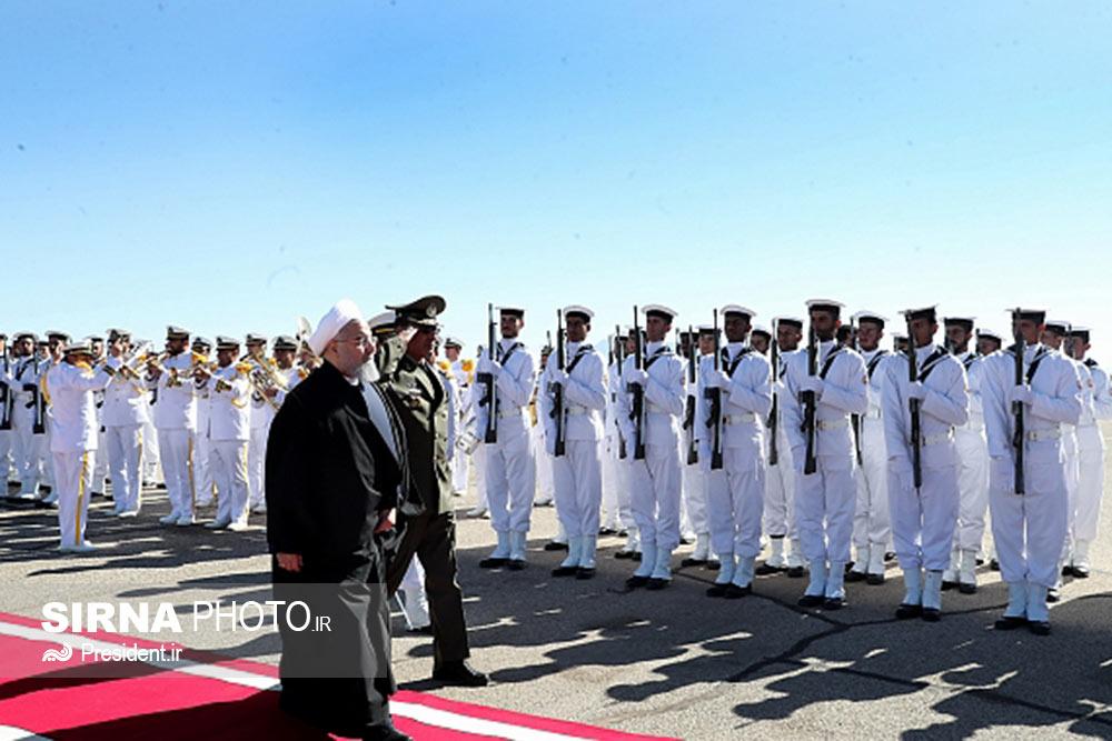 ورود رییس جمهور به فرودگاه بین المللی سیرجان