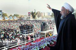 سخنرانی رییس جمهور در اجتماع بزرگ مردم سیرجان
