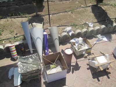 مسابقه نجات تخم مرغ در سیرجان