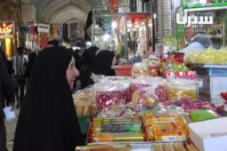 بازار سیرجان در شب عید ۹۰