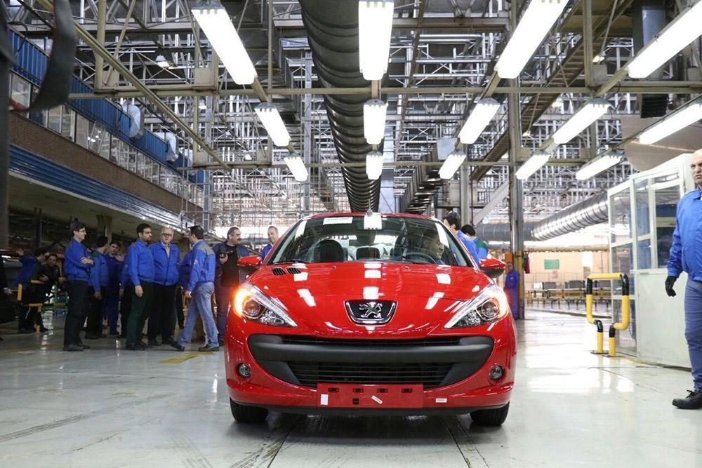 افزایش ۱ تا ۳ میلیون تومانی محصولات ایران خودرو