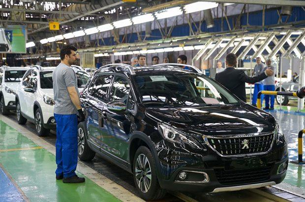 کاهش ۳۸ درصدی تولید خودروهای سواری