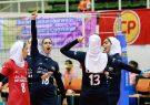صعود دختران والیبالیست ایران به ۸ تیم برتر آسیا