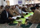 محفل انس با قرآن در مرکز آموزش شهدای وظیفه سیرجان برپا شد