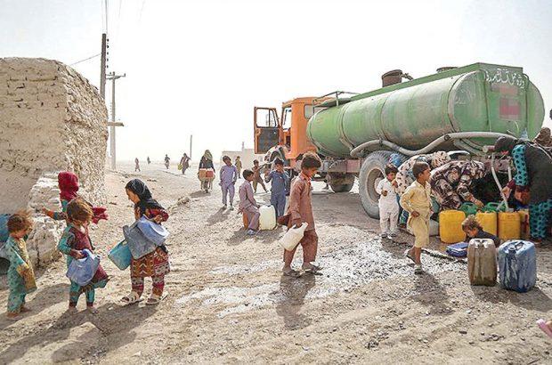 همسایگان سه چاه آب شرب در سیرجان با تانکر آبرسانی می شوند