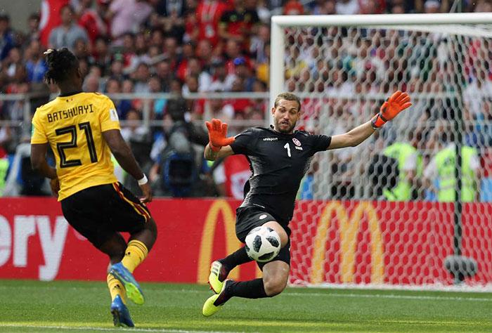 صعود بلژیک با تحقیر تونس قطعی شد