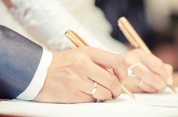 کاهش ۱۲ درصدی ازدواج و افزایش یک درصدی طلاق در استان