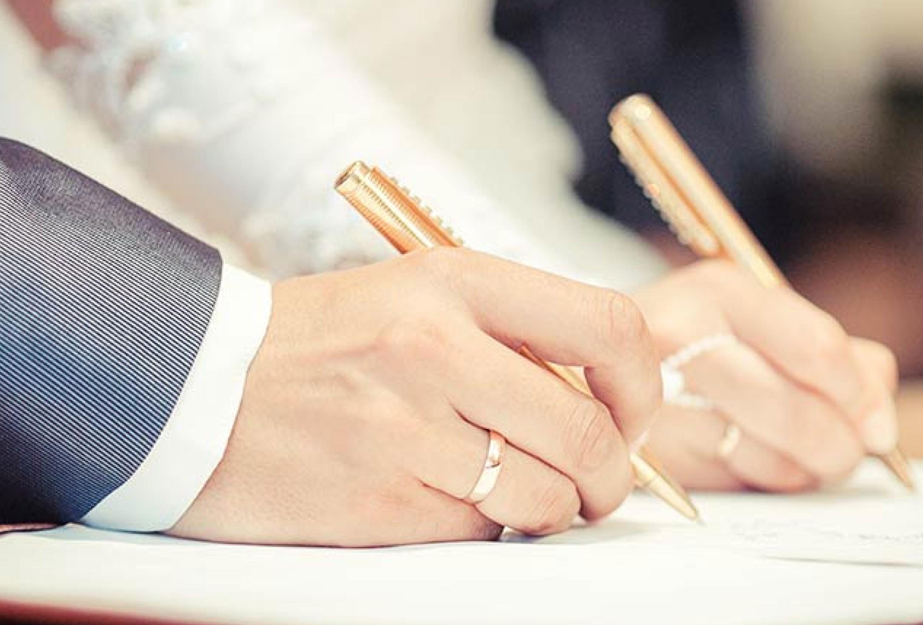 هزینه ثبت ازدواج و طلاق ۲۰% گران شد