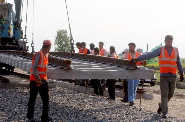 عملیات اجرایی راهآهن «سیرجان – کرمان» آغاز شد