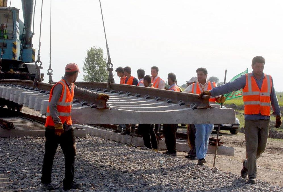 پروژه راه آهن شیراز – سیرجان ۳۴ درصد پیشرفت فیزیکی داشته است