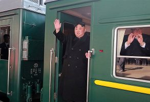 کیم جونگ اون با قطار وارد روسیه شد