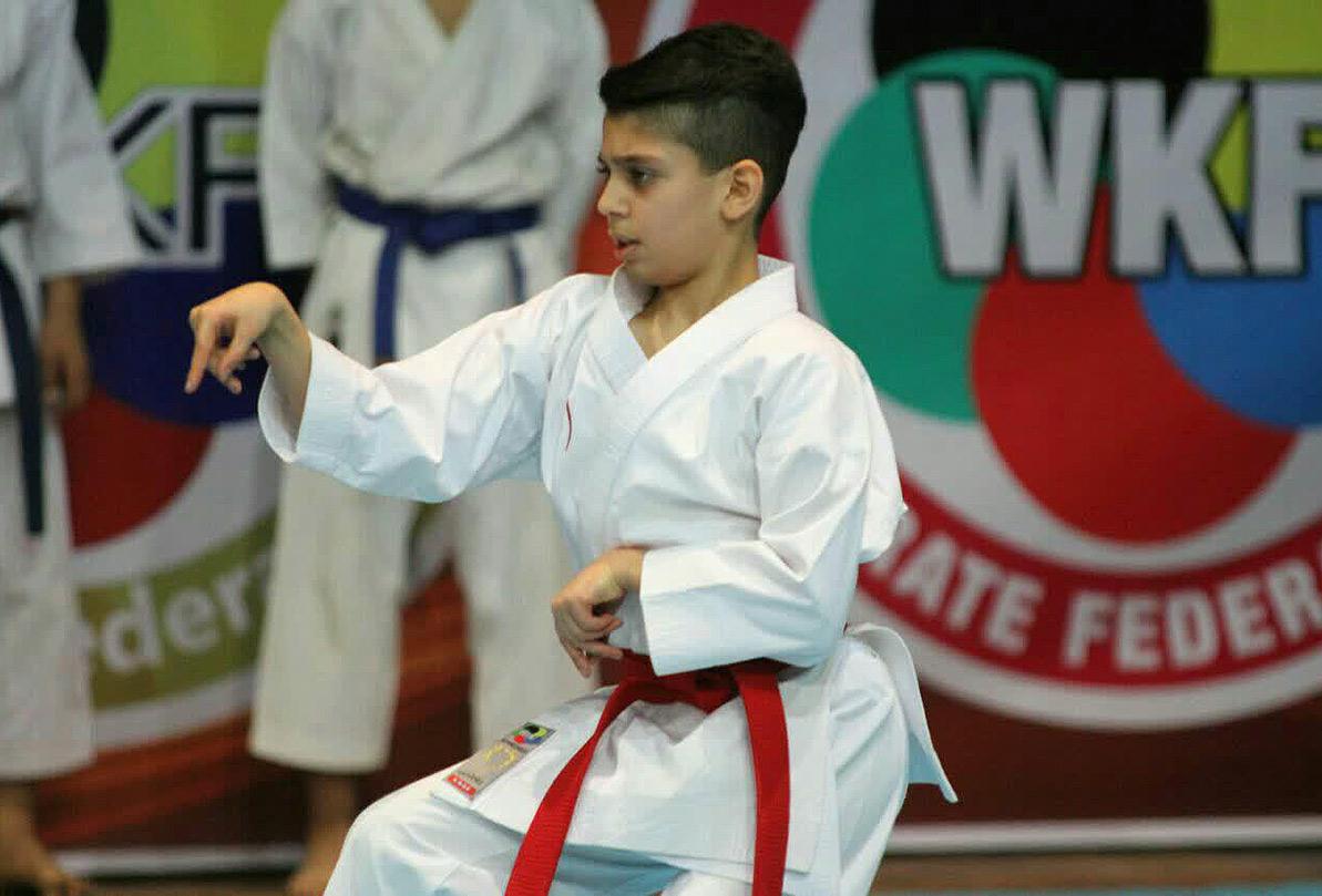 سیرجانیها در مسابقات کاراته کومیته وان استان خوش درخشیدند