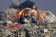 جنگندههای رژیم صهیونیستی خبرگزاری آناتولی را ویران کردند