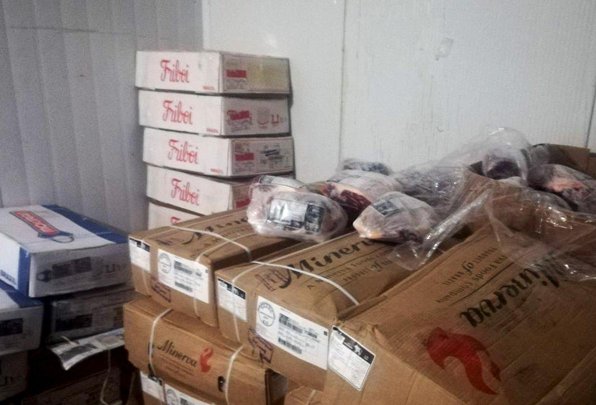 کشف یک تن گوشت قاچاق در سیرجان