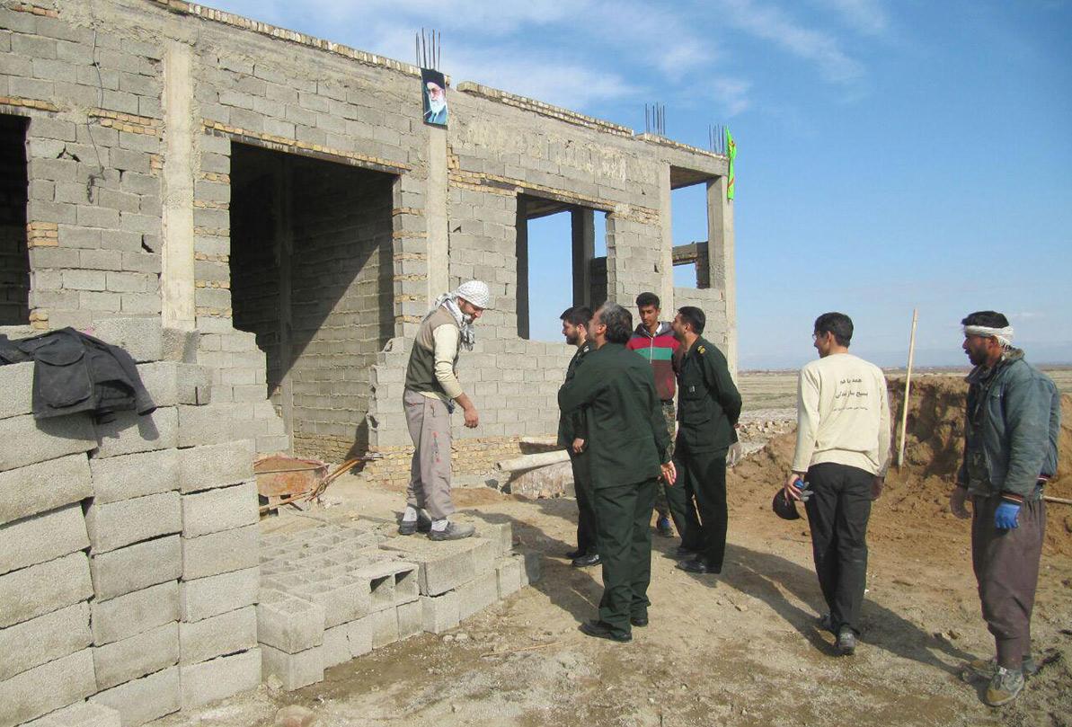 ۱۰هزار خانه روستایی مددجویی در جنوب کرمان در حال ساخت است