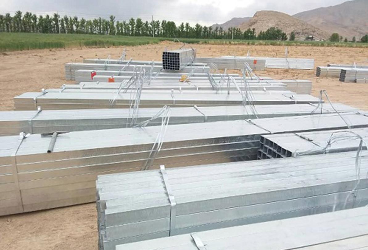 آغاز احداث گلخانه سبزی و صیفی واحد سیدان شرکت سیرجان بنیاد