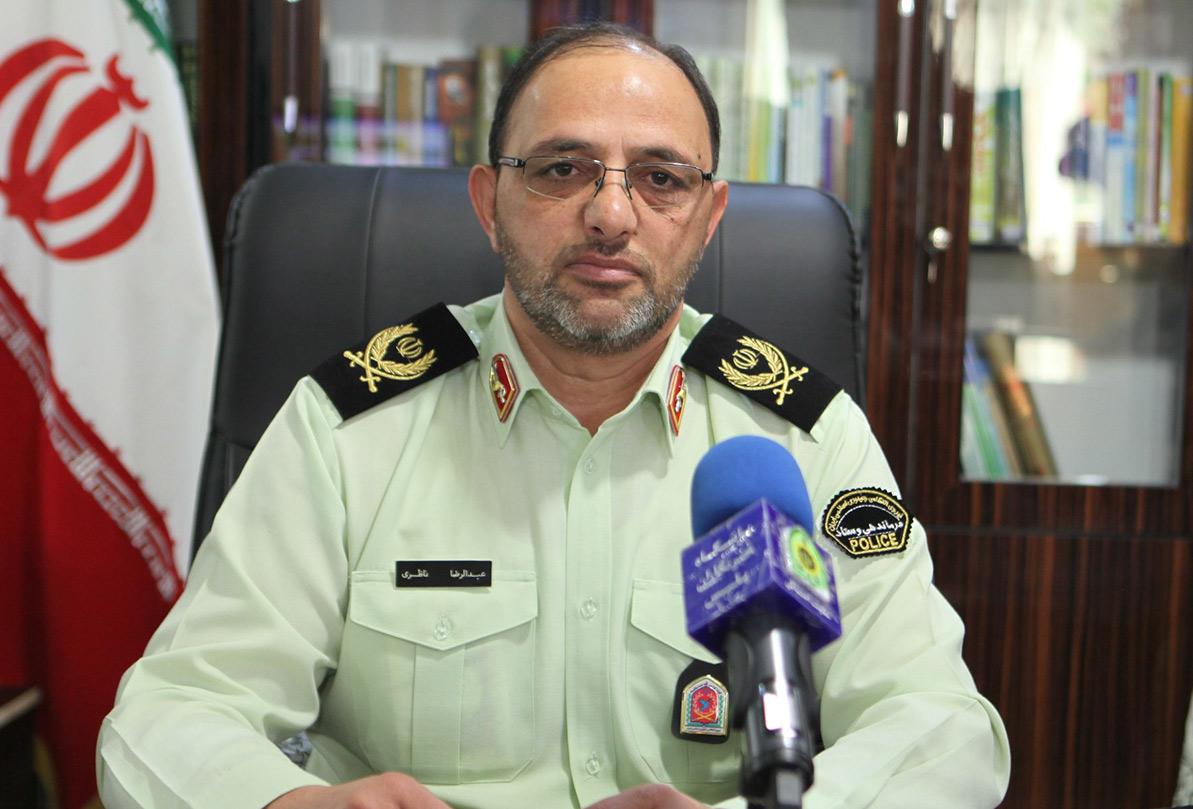 پیام تشکر فرمانده انتظامی استان از هواداران تیم گل گهر