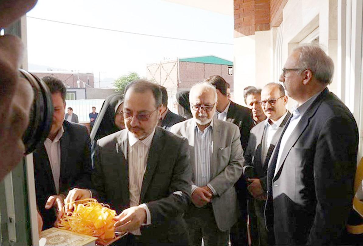 افتتاح چند طرح در حاشیه شهر کرمان با حضور معاون وزیر کشور