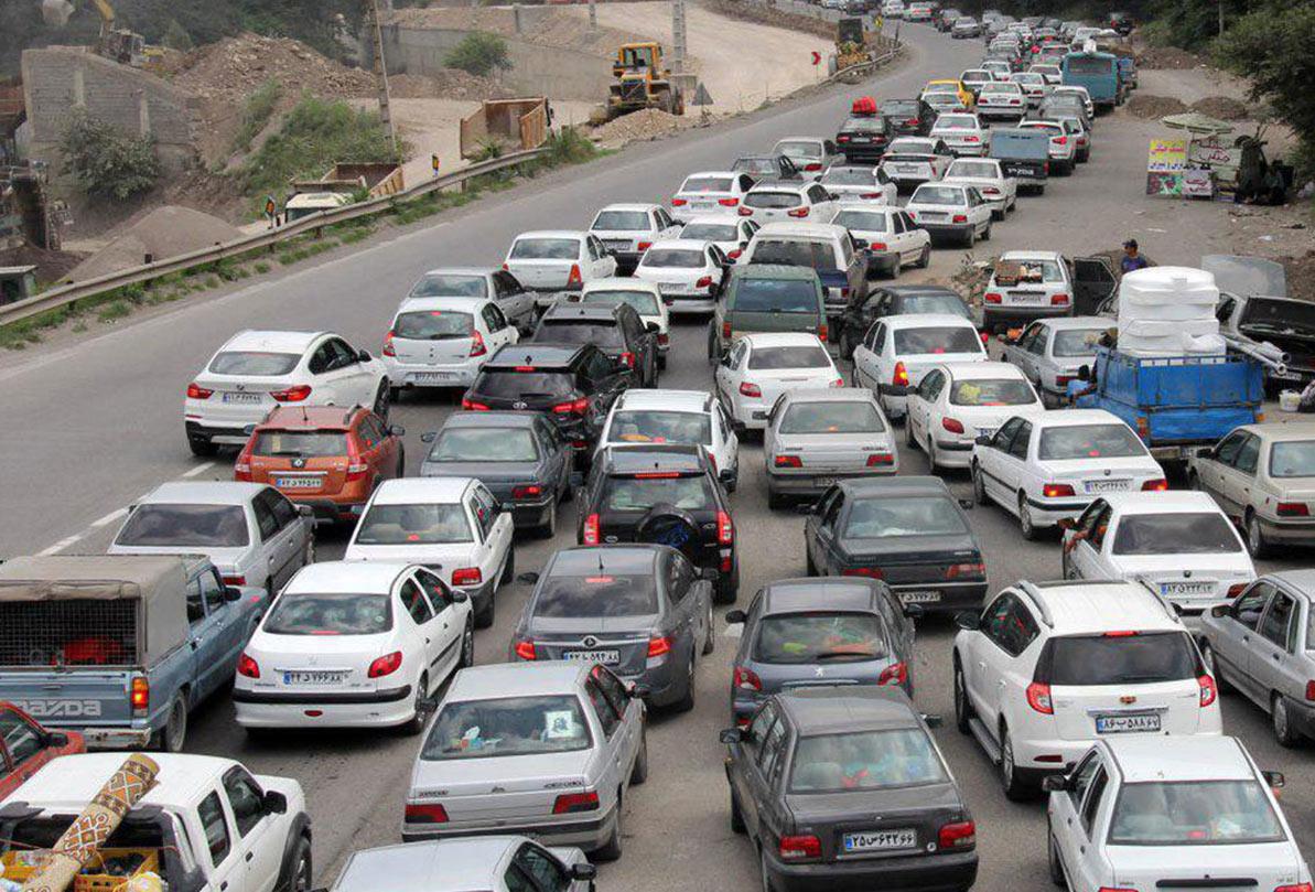وضعیت ترافیکی محور کرمان – سیرجان سنگین اعلام شد