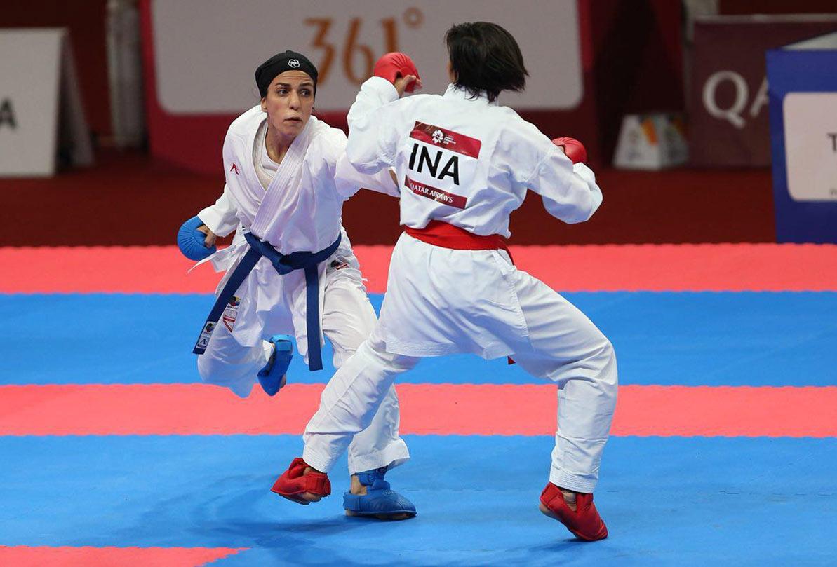 «طراوت خاکسار» بانوی کاراته کا به فینال قهرمانی آسیا راه یافت