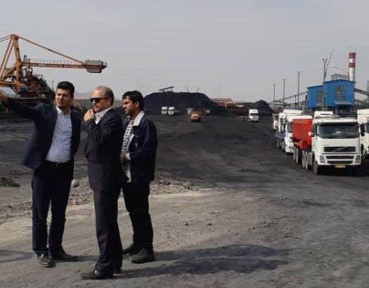 بازدید مدیران فولاد خوزستان از سنگ آهن گلگهر