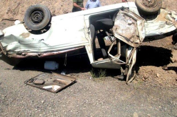 واژگونی خودرو در کرمان جان کودک پنج ساله را گرفت
