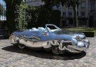 چاق ترین خودروی جهان به نمایش گذاشته شد