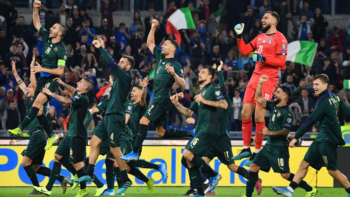 صعود تیم ملی فوتبال ایتالیا به یورو ۲۰۲۰