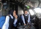 برای اولین بار هدایت هواپیمای ایرانی توسط دو زن خلبان صورت گرفت