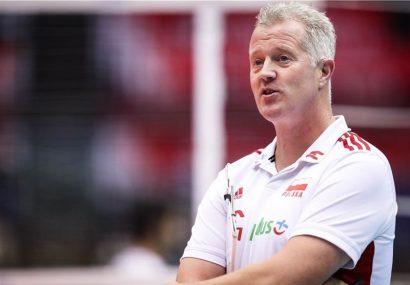 سرمربی تیم ملی والیبال لهستان: علاقه زیادی به بازیکنان جوان ایران دارم
