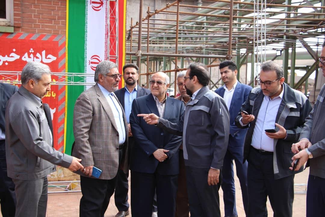 افتتاح طرح های اقتصادی سیرجان در سفر رییس جمهور