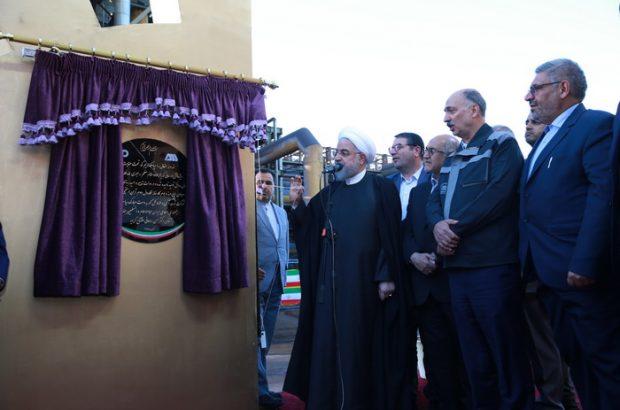 افتتاح پروژههای توسعهای منطقه معدنی و صنعتی گل گهر