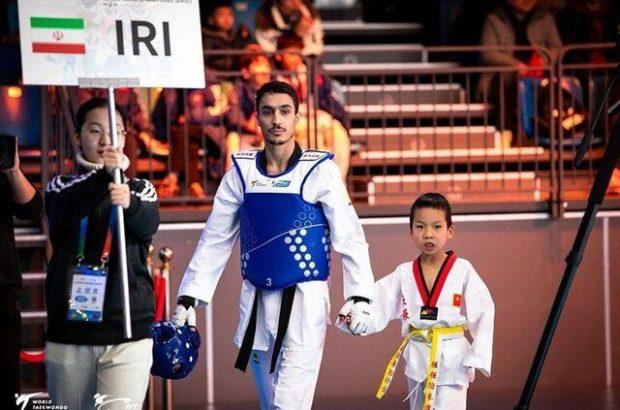 آرمین هادیپور بهترین تکواندوکار ایران در رنکینگ المپیک