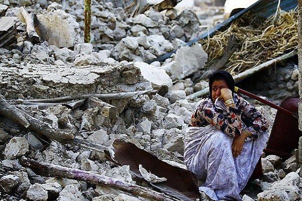 ۱۶ سال بعد از زلزله شهر همچنان مینالد