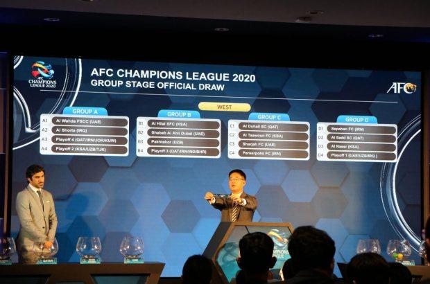 مراسم قرعهکشی مرحله گروهی لیگ قهرمانان آسیا برگزار شد