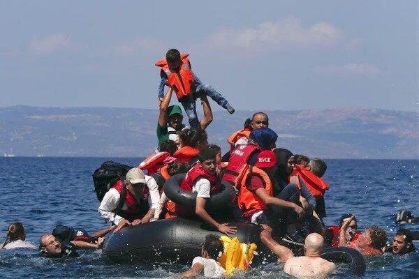غرقشدن قایق پناهجویان در «وان» ترکیه
