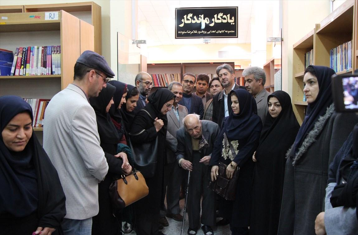 ۲ هزار جلد کتاب به کتابخانه دانشگاه آزاد اسلامی سیرجان اهدا شد