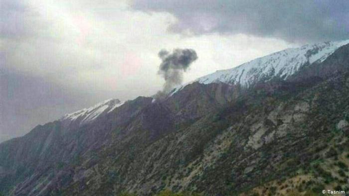 احتمال سقوط هواپیمای جنگی در دامنه کوه سبلان