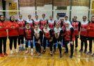 شروع طوفانی بانوان والیبالیست سیرجانی در لیگ دسته اول کشور