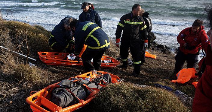 کشف جسد ۶ مهاجر در مرز یونان با ترکیه