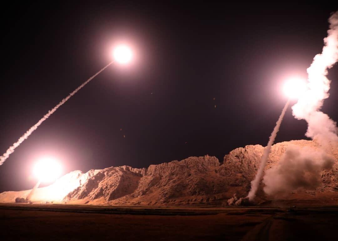 تصاویر بیبیسی از تخریب پایگاه آمریکا در حمله سپاه