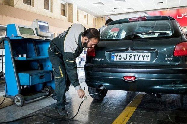 خودروهای بدون معاینه فنی، هر ۲۴ ساعت، ۵۰ هزار تومان جریمه میشوند