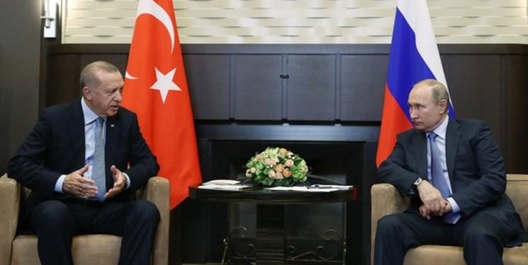 محور رایزنی امروز پوتین و اردوغان