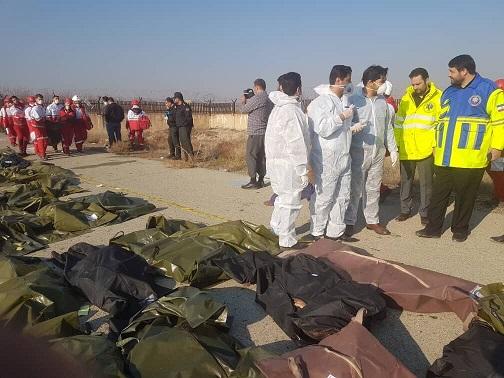 جان باختن دانشجویان پزشکی ایرانی در سقوط هواپیمای اوکراینی