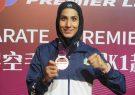 بانوی کاراتهکای ایران سهمیه المپیک گرفت